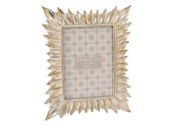 Silver Leaf Photo Frame