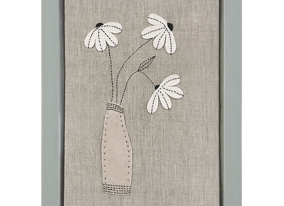 East Of India Embroidered Pic-Those We Love Don't Go