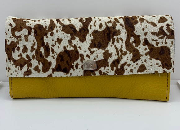 Large Owen Barry Vermont Purse Mustard And Bootfleck