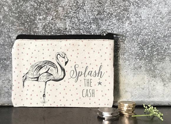 East Of India Flamingo Purse