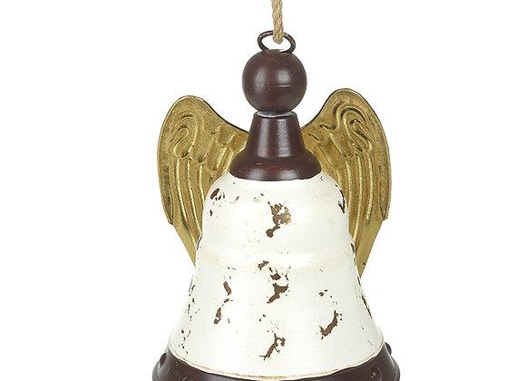 Metal Bell With Angel Wings