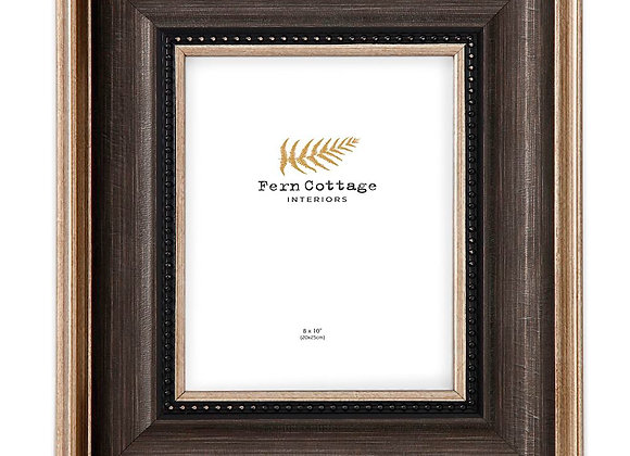 Black And Brushed Gold Frame 8x10