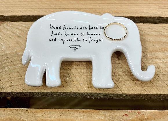 Good friends ring dish