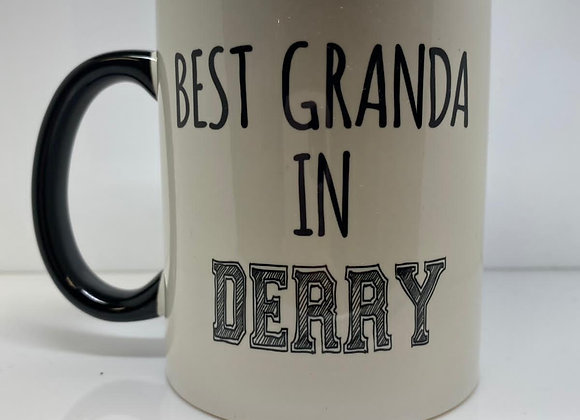 Best Granda In Derry Mug