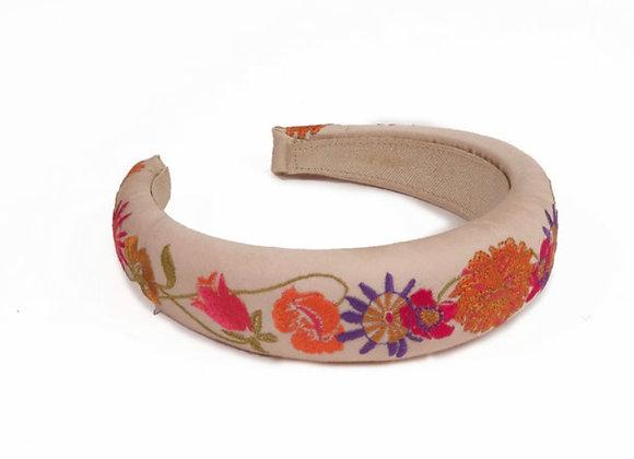 Powder Padded Headband Retro Meadow Cream