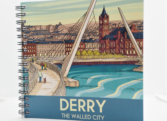 Derry The Walled City Notebook