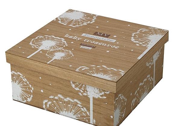 Wooden Baby Memory Box