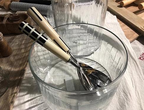 קערת סלט זכוכית