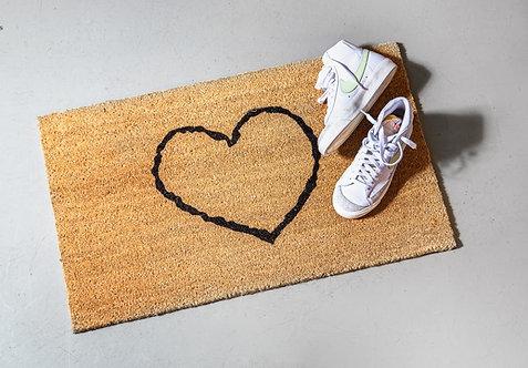 שטיח סף לב