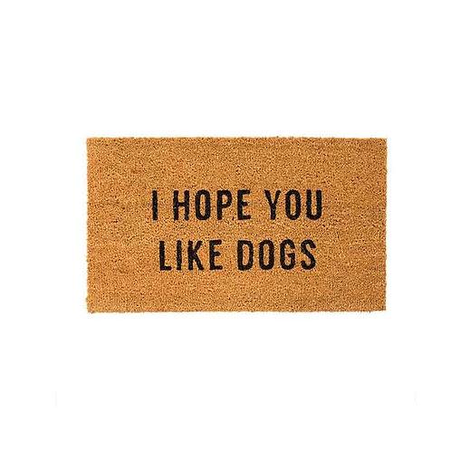 שטיח סף i hop u like dogs