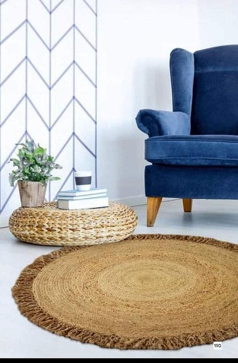 שטיח קש קוטר 150