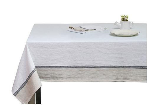 מפת שולחן לבנה בסגנון נורדי M