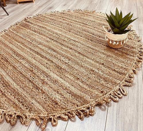 שטיח חבל קונטר לולאות קוטר 120