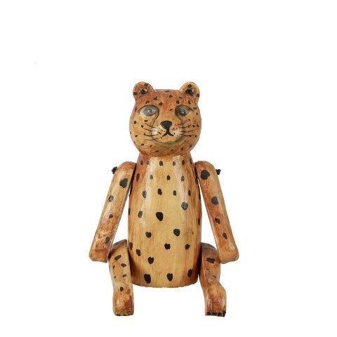 בובת אריה מעץ