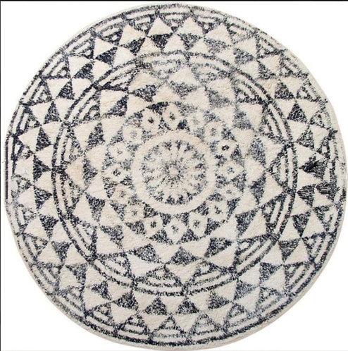 שטיח  מודפס עגול קוטר 120