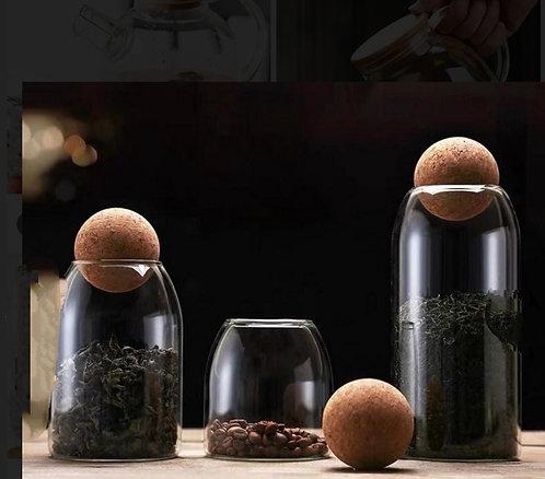 בקבוק זכוכית פקק כדור S
