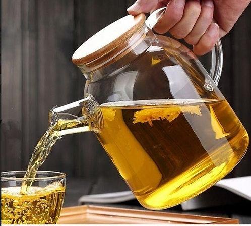 קומקום תה זכוכית