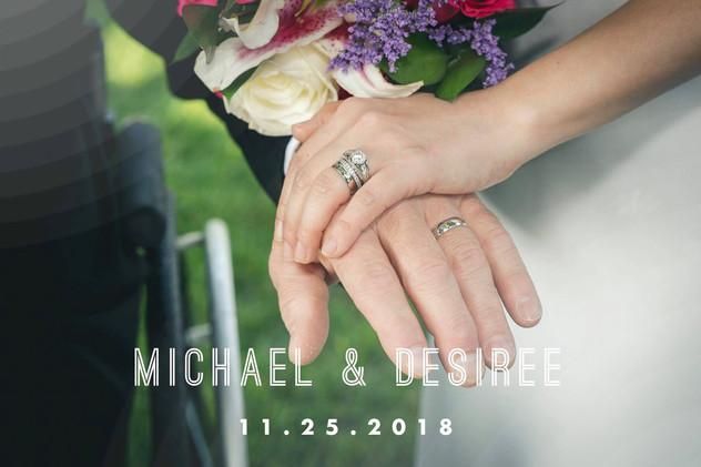 Michael and Desiree's Wedding