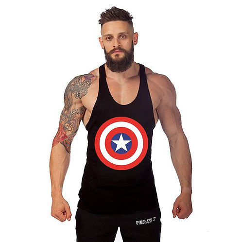 Mens New Tank Black