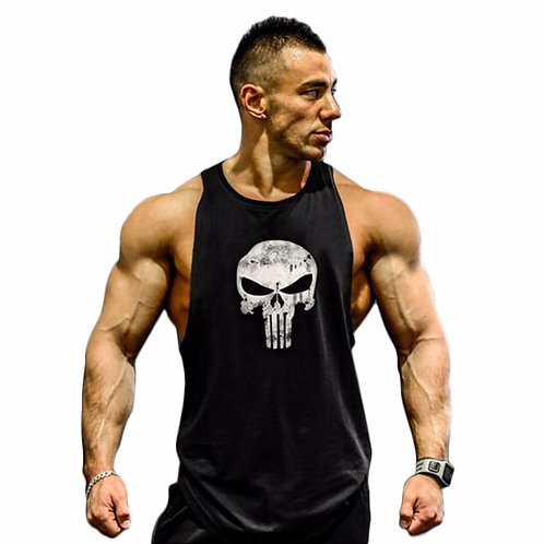 Skull crusher Tank Top