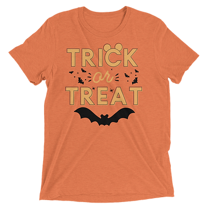Trick Or Treat Tees (Choose Your Color)