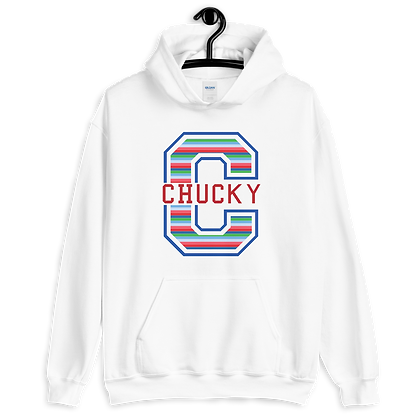 Chucky  Varsity Hoodies (Choose Your Color)