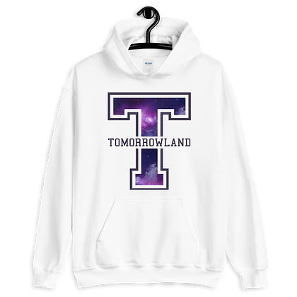 Tomorrowland Varsity Hoodie (Choose Your Color)