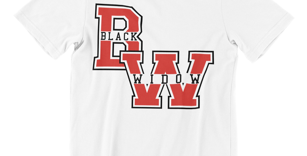 Black W.  Varsity - Tees