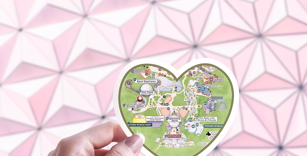 Epcot Stickers