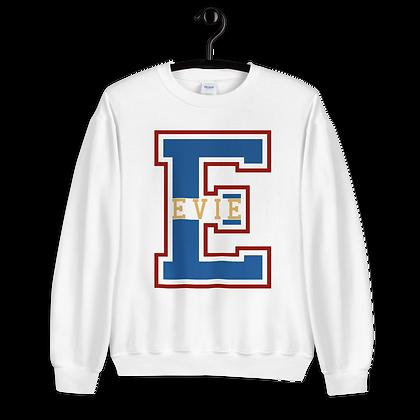 Evie Varsity Crewneck (Choose Your Color)