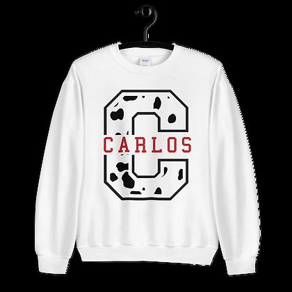 Carlos Varsity Crewneck (Choose your Color)