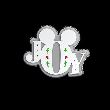 Joy Holiday Sticker