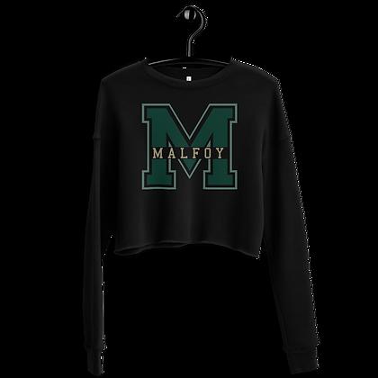 Malfoy - Cropped Sweatshirt