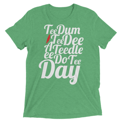 Tee Dum Tee: Heather Green