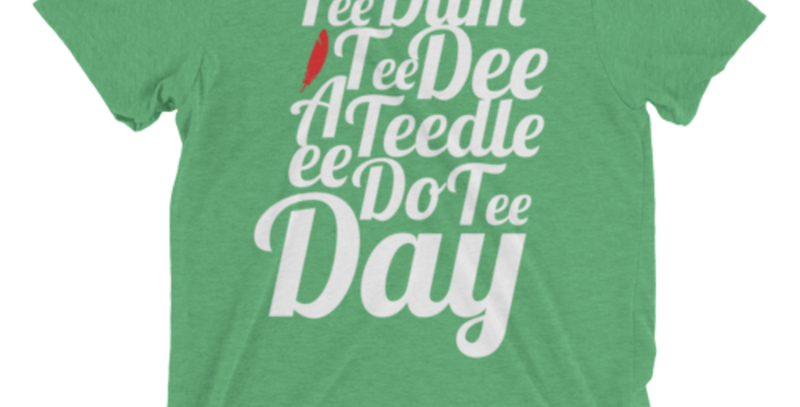 Tee Dum Tee: Heather Green