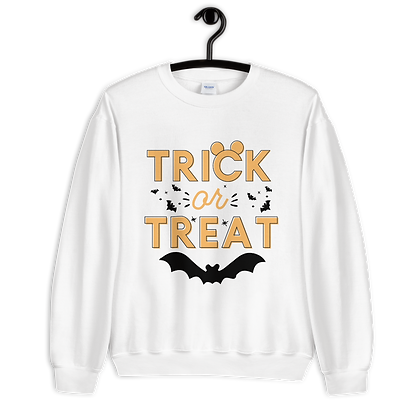 Trick Or Treat Crewneck (Choose Your Color)