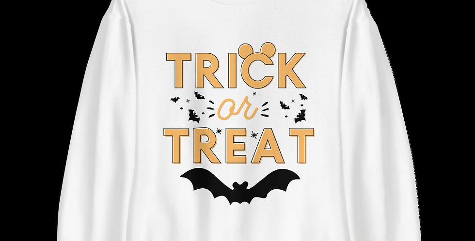Trick Or Treat Crewneck (Choose Your Color)