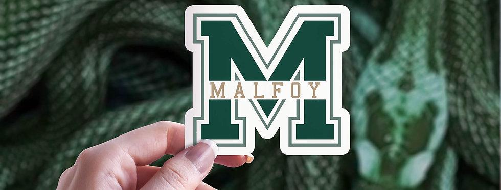 Malfoy Sticker