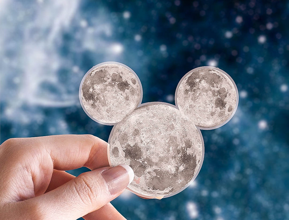 Moon M.  Sticker