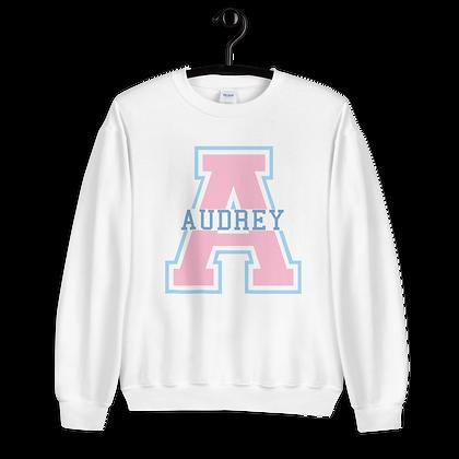 Audrey Varsity Crewneck