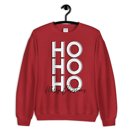 HO HO HO  Crewnecks