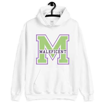 Maleficent Varsity Hoodie (Pick Your Color)