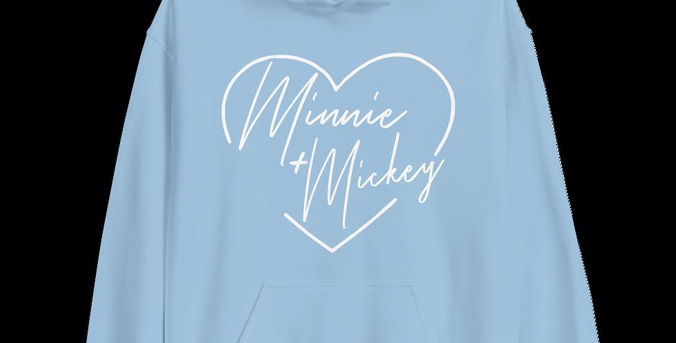 Minnie + Mickey Hoodies
