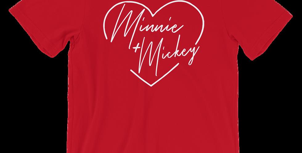 Minnie + Mickey - Tee