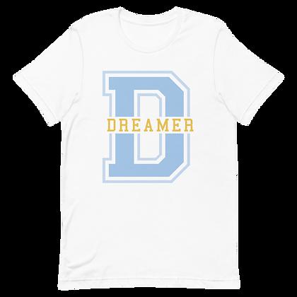 Dreamer Blue Varsity Tee (Choose Your color)