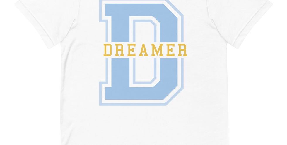 Dreamer Blue Varsity Tees