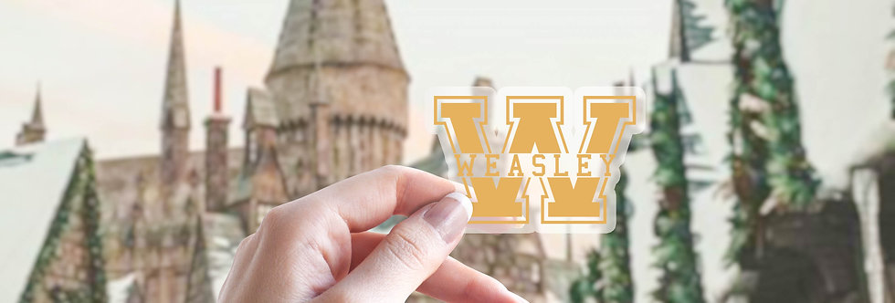 Weasley Sticker