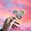 Thumbnail: Holo Moon M.  Sticker