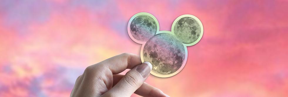 Holo Moon M.  Sticker