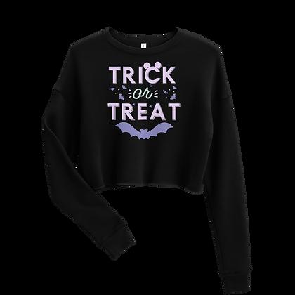 Trick or Treat Crew Crop Lavander (Choose your Color)